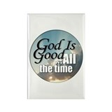 God Is Good Rectangle Magnet (100 pack)