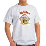 Big Easy Beer Ash Grey T-Shirt