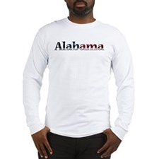 Alabama USA Long Sleeve T-Shirt