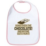 Hand over the CHOCOLATE! Bib