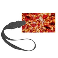 Pizza Painting Luggage Tag