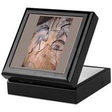 """Cave Art 4"" Tile Storage Box"