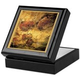 &quot;Cave Art 5&quot; Tile Storage Box