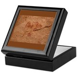 &quot;Cave Art 7&quot; Tile Storage Box