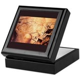 &quot;Cave Art 8&quot; Tile Storage Box