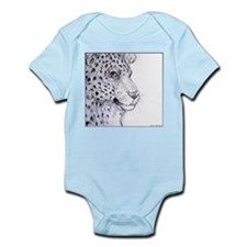 Leopard, wildlife art Body Suit