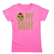 Olive My Daddy Girl's Tee