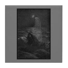 Annabel Lee Tile Coaster