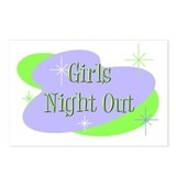 Girls Night Out Postcards (Package of 8)