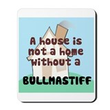 Bullmastiff Home Mousepad