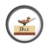 Dale Personalized Wall Clock