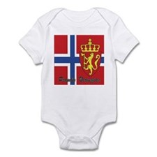 Proudly Norwegian Infant Bodysuit