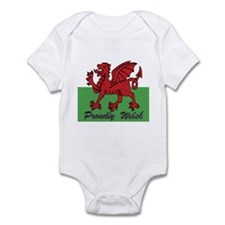 Proudly Welsh Infant Bodysuit