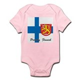 Proudly Finnish Infant Bodysuit