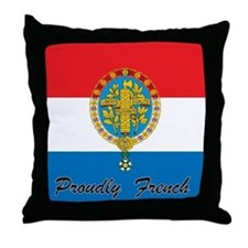 Proudly French Throw Pillow