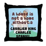 Cavalier Home Throw Pillow