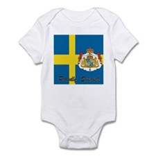 Proudly Swedish Infant Bodysuit
