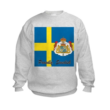 Proudly Swedish Kids Sweatshirt