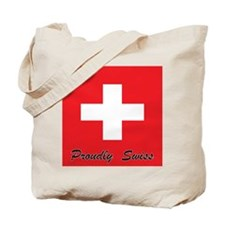 Proudly Swiss Tote Bag