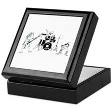 Frogs Rock Keepsake Box