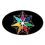 Chakra Fairy Star Decal