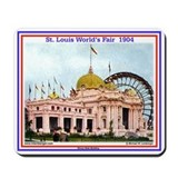 Illinois State Building Mousepad