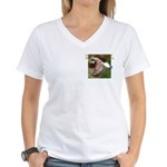 Untamed Spirit Two Women's V-Neck T-Shirt
