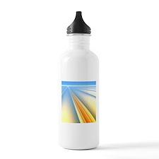 The Blinding Light of Water Bottle