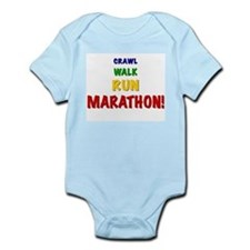 Unique Child of runner Infant Bodysuit