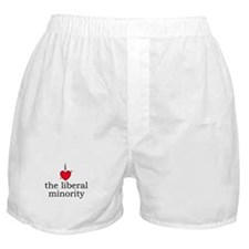 i [heart] the liberal minorit Boxer Shorts