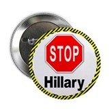 "Stop Hillary 2.25"" Button (100 pack)"