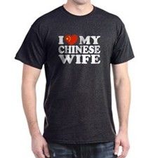 I Love My Chinese Wife T-Shirt