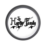The Hyphy Family Wall Clock