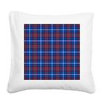 Tartan - Edinburgh dist. Square Canvas Pillow