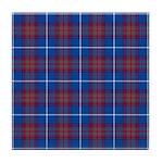 Tartan - Edinburgh dist. Tile Coaster