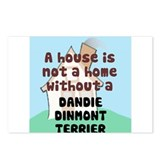 Dandie Home Postcards (Package of 8)