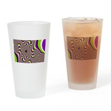 Optical Illusion Drinking Glass