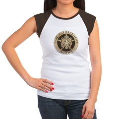 Bail Enforcement Agent Women's Cap Sleeve T-Shirt
