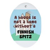 Spitz Home Oval Ornament