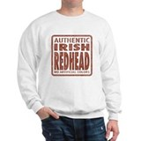 Irish Redhead Sweater