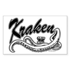 Kraken @ eShirtLabs.Com Rectangle Decal