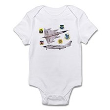 B airplane Infant Bodysuit