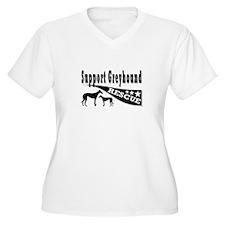 Support Greyhound Rescue T-Shirt