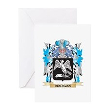 Madigan Coat of Arms - Family Crest Greeting Cards