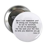 Joshua 1:9 Button