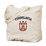 Yugoslavia Coat of Arms Tote Bag