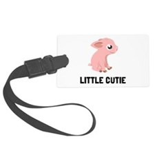 Little Cutie Pig Luggage Tag