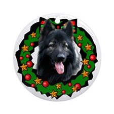 Charley Christmas Ornament (Round)