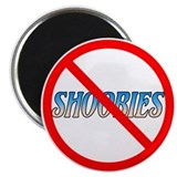 "NoShoobies 2.25"" Magnet (10 pack)"