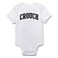 CROUCH (curve-black) Infant Bodysuit